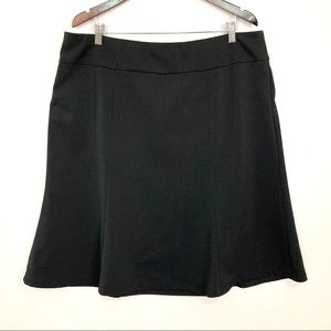 Lane Bryant Ponte Knit Skirt Fit and Flare Stretch